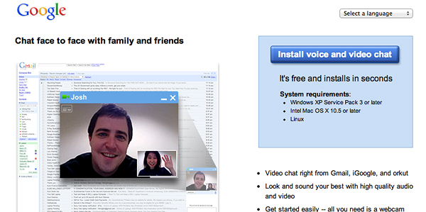 Google Video Chat