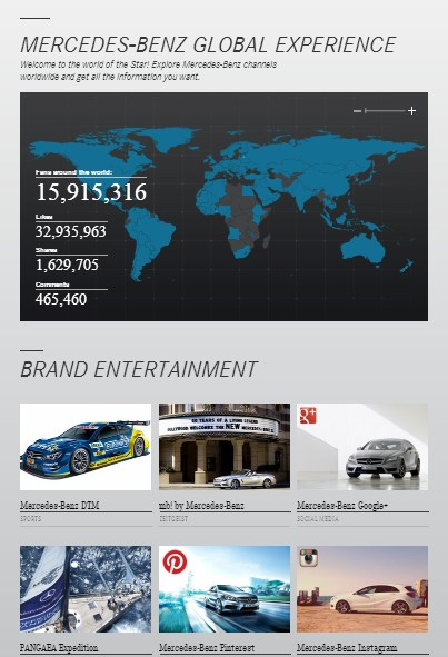 Mercedes-Benz - Global Experience