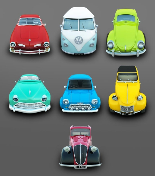 Archigraph Cars Icons