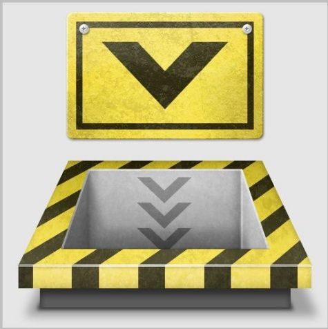 Create a 3D Industrial-Style Download Icon in Photoshop