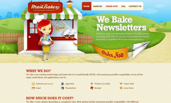 Mail Bakery