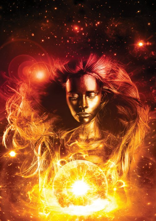 Give a Portrait a Cosmic Makeover