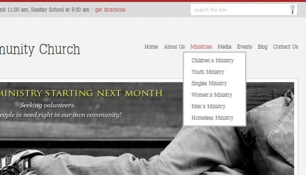 Documentation for Stylish Church WordPress Theme