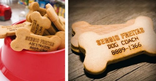 Dog Treat Business Cards