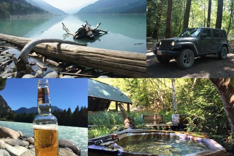 [Pemberton, BC] T'sek Hot Springs 原住民的寶藏- 森林天然溫泉露營遊
