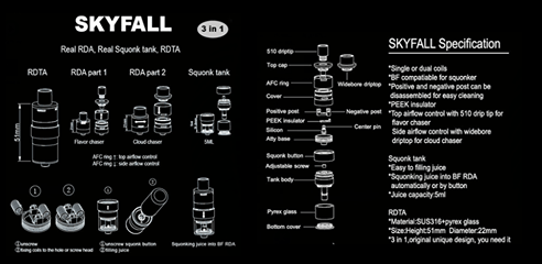 Skyfall RDTA Manual