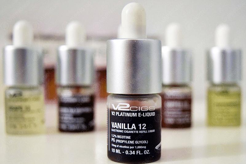 V2 E-Liquid Bottle Design
