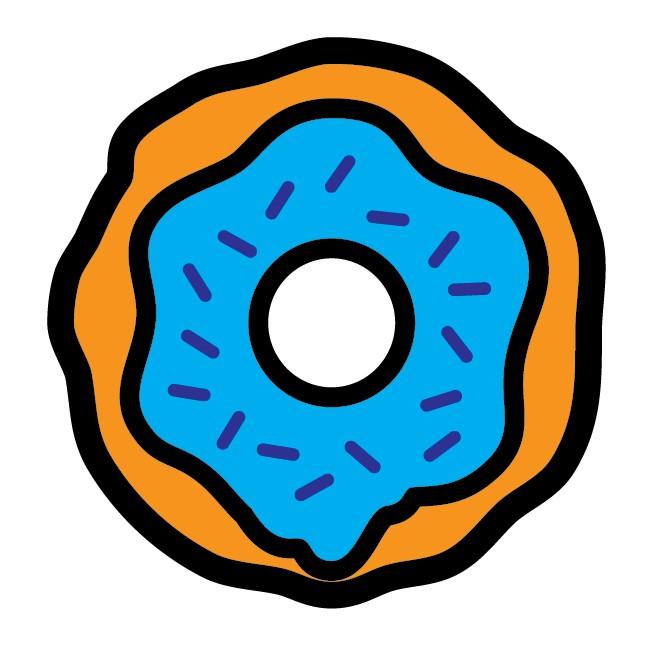 DRPN Donut Blueberry