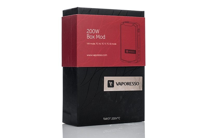 Vaporesso Tarot 200W Packaging