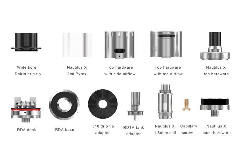 Aspire Quad-Flex RDTA parts