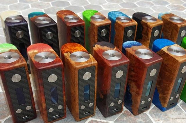 Rocket Science Mods custom DNA 75 boxes
