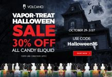 Vapor-Treat Halloween Sale