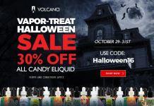 Vapor-Treat Halloween Sale