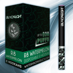 R8 Watermelon White Rhino Blacklight E-Hookah 6mg