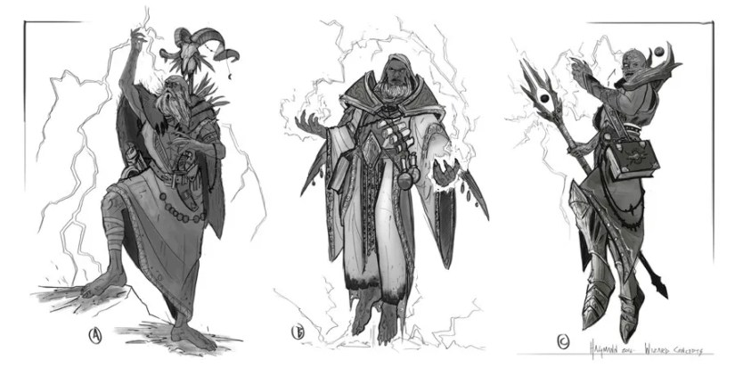 Wizard character concepts