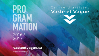 Vaste et Vague PROGRAMMATION 2016-2017