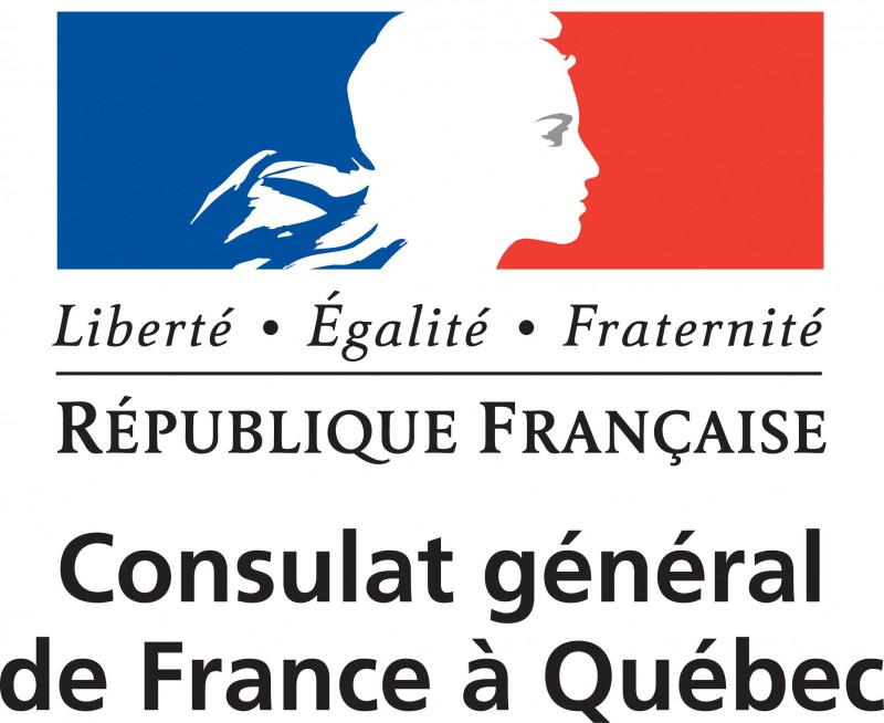 Logo Consulat général de France à Québec