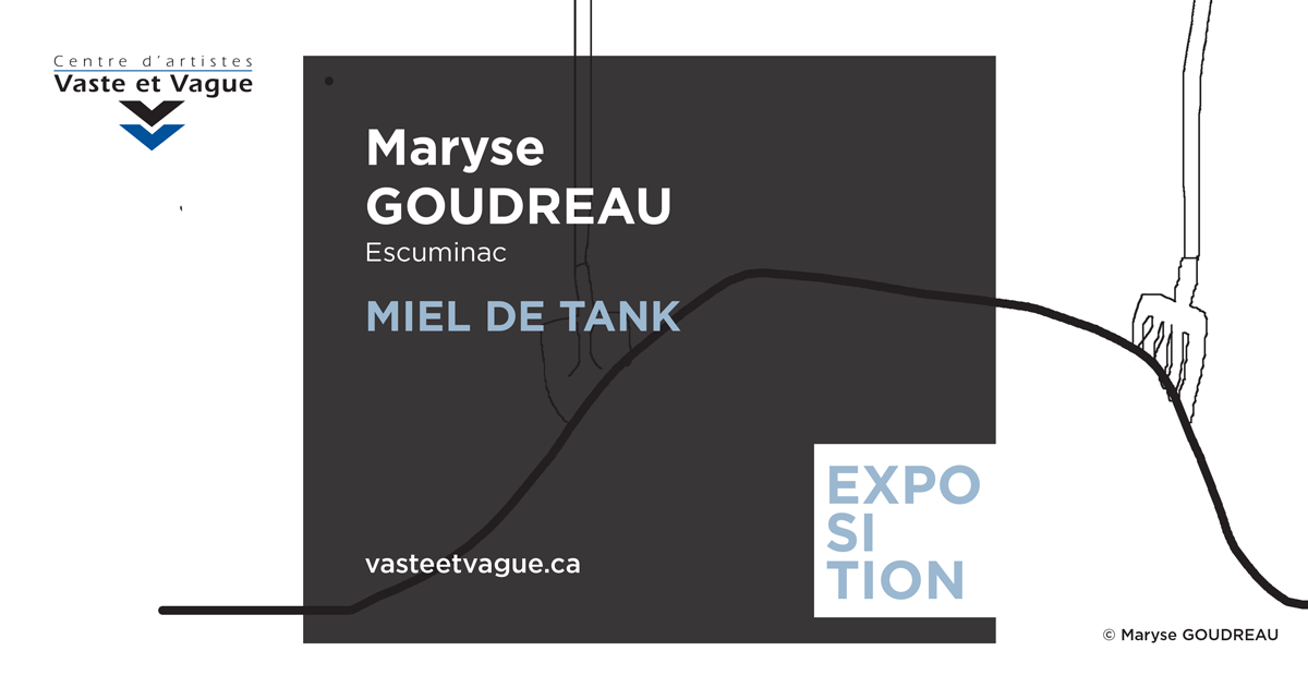Maryse GOUDREAU, Escuminac MIEL DE TANK | Installation | Centre d'artistes Vaste et Vague