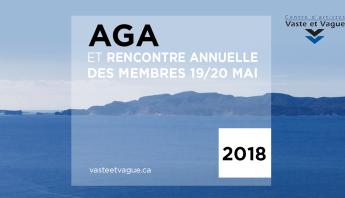 AVIS DE CONVOCATION : AGA ET RENCONTRE MEMBRES Vaste et Vague 201