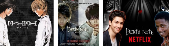 Death Note characters Light and L