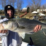 Action on the Shad Taxi, Smith Mountain Lake