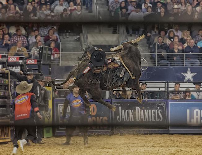 PBR event in AT&T stadium, 2013