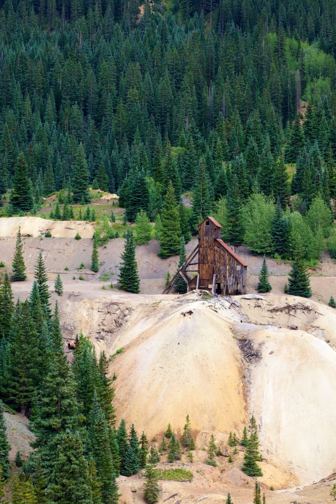 Silver mine outside of Silverton, Colorado, 2015