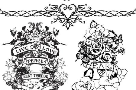 tattoo templates vector