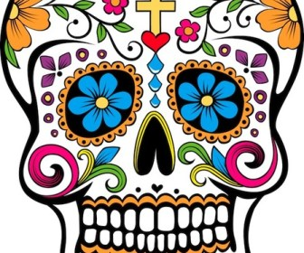 Sugar Skull Vector Art