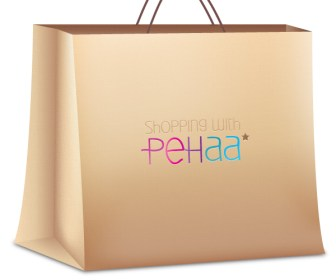Beautiful Shopping Bag Vector