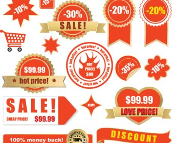 Sale Label Vector Art