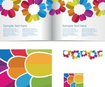 Vector brochure booklet