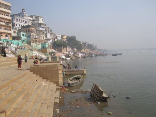 Ganga in Varanasi am Ghat