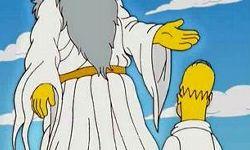 Der Gott der Simpsons