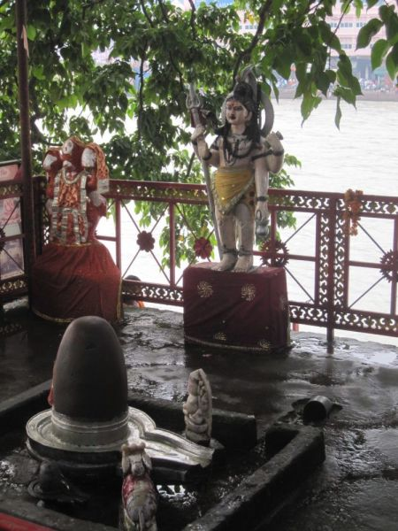 Shiva am Ganges