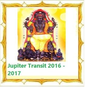 Jupiter Transit to Virgo Guru Peyarchi 2016 - 2017