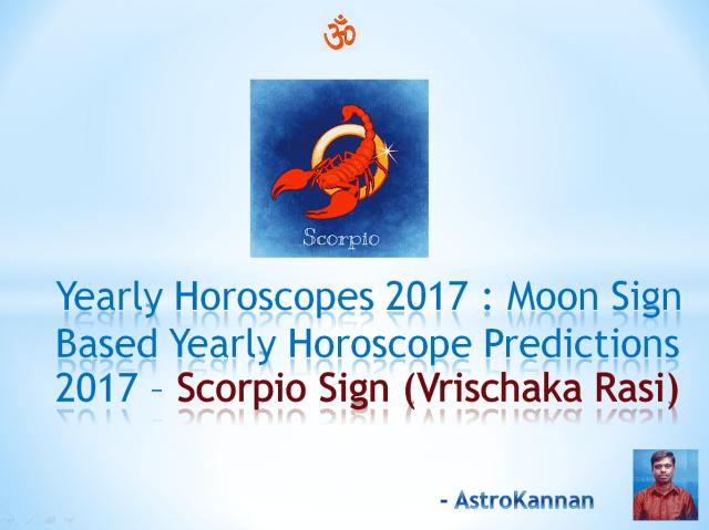 Yearly Horoscopes 2017 | 2017 SCORPIO HOROSCOPE / 2017 VRISCHIK HOROSCOPE