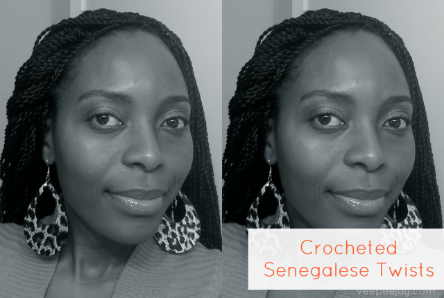 Crocheted Senegalese Twists