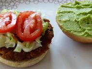 Burger Avocadocreme