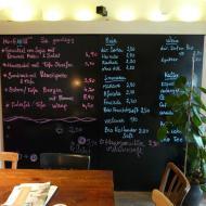 Cafe Erde Speisekarte