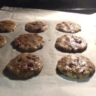 Abstand lassen zwischen Cookies