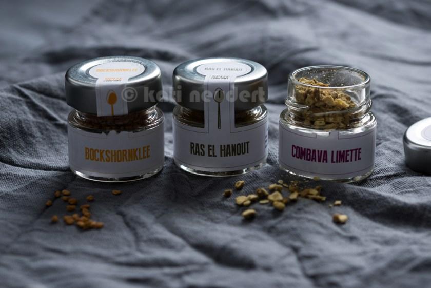 Bockshornklee, Ras el Hanout und Combava Limette