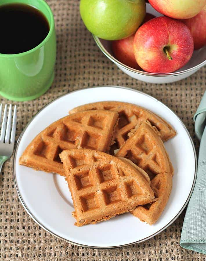 Check out this recipe from Delightful Adventures for waffles that are ...