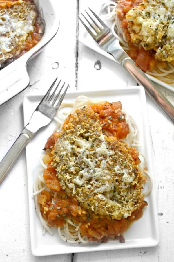Cauliflower-Parmesan