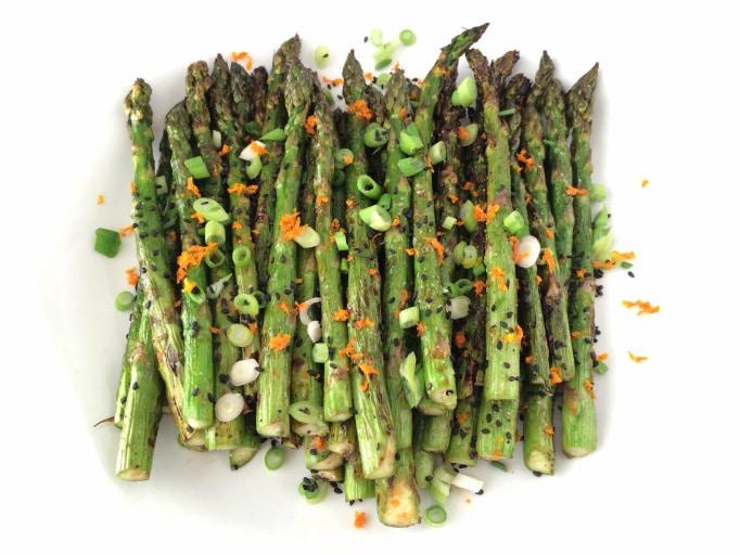 Orange Soy Grilled Asparagus