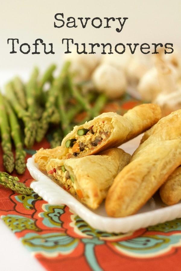 Savory Tofu Turnovers