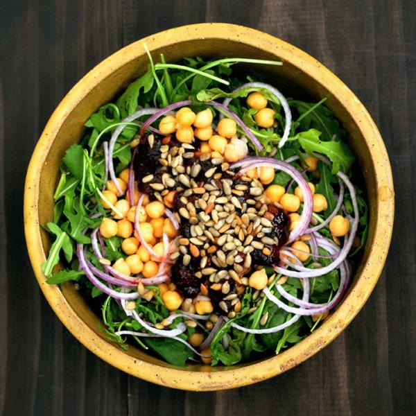 Strawberry Balsamic Chickpea Salad » Vegan Food Lover