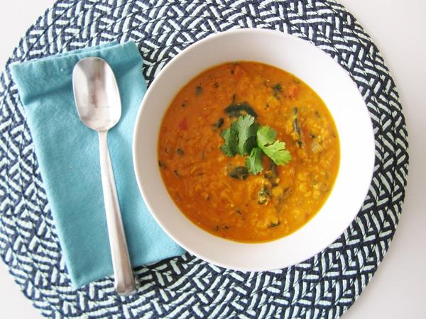 Paleo Tomato-Curry Lentil Stew