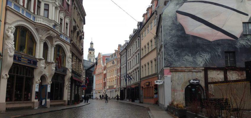 Riga Latvia Old Town - Vegan Nom Noms
