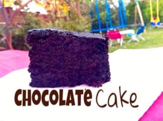 עוגת שוקולד טבעונית - השוחטת הטבעונית מתכונים טבעוניים